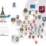 European Capitals' Emblems