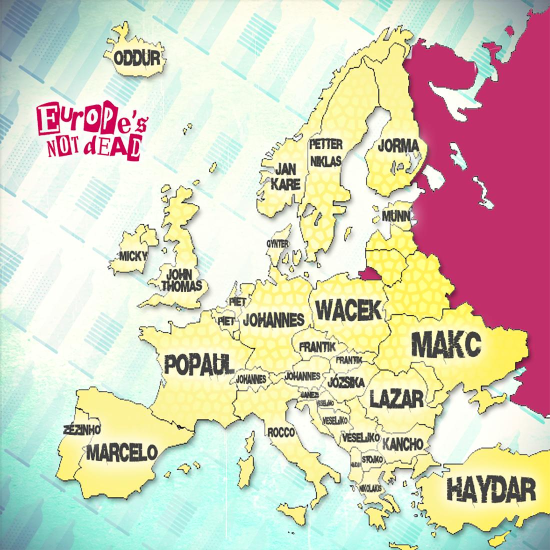 Zizis européens