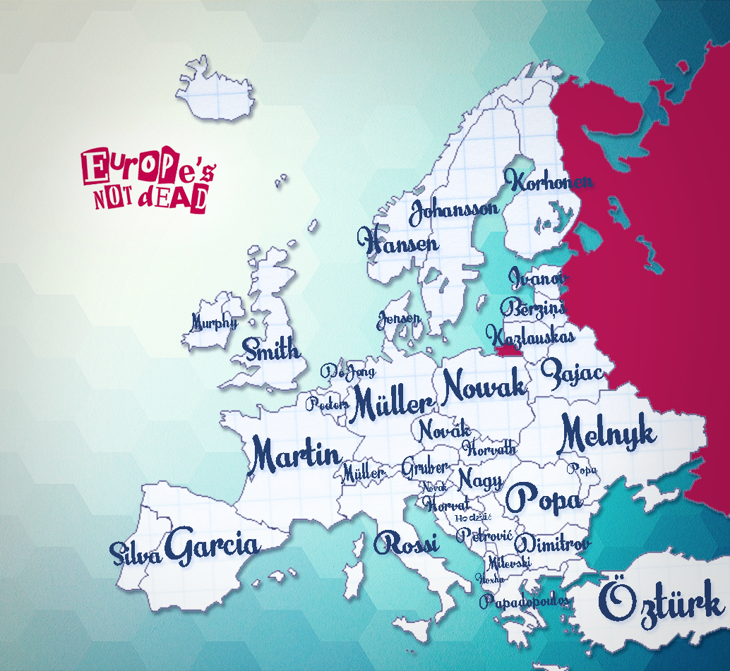 Noms de famille européens