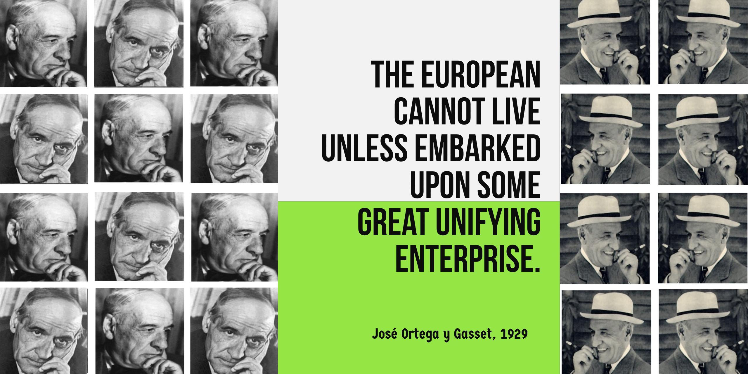 José Ortega Y Gasset Europe Is Not Dead