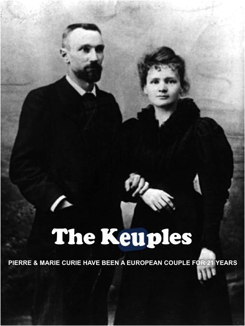 The Keuples - Pierre & Marie Curie