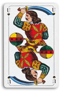 German-Suited Playing Cards - Schellen - Bells 2