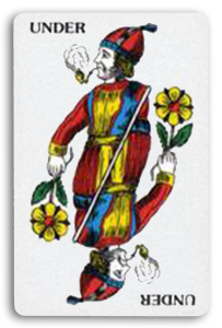 Swiss-Suited Playing Cards - Rosen - Roses 2