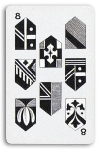Swiss-Suited Playing Cards - Schilten - Shields