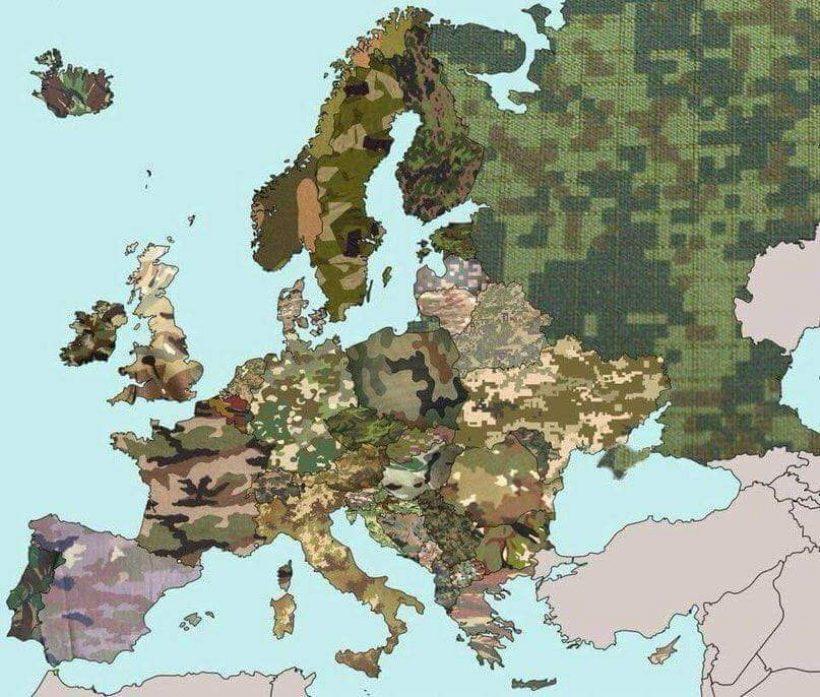 European Military Camouflage
