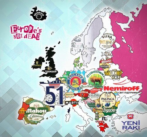 Chansons à boire européennes