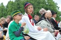 President Of Estonia Kersti Kaljulaid Enjoying Youth