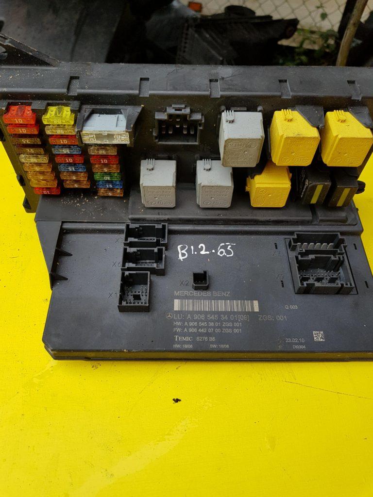 hight resolution of mercedes benz sprinter sam module fuse box a906543401 b1 2 65
