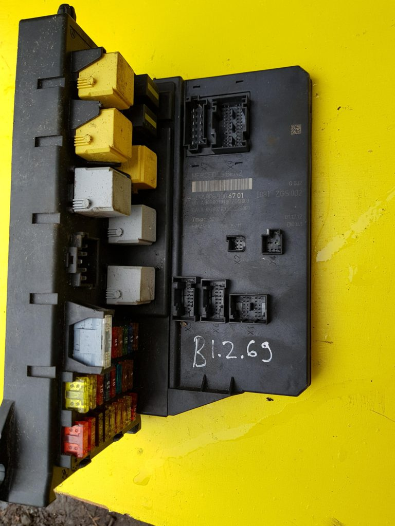 hight resolution of mercedes benz sprinter fuse box a9069006701 b1 2 69