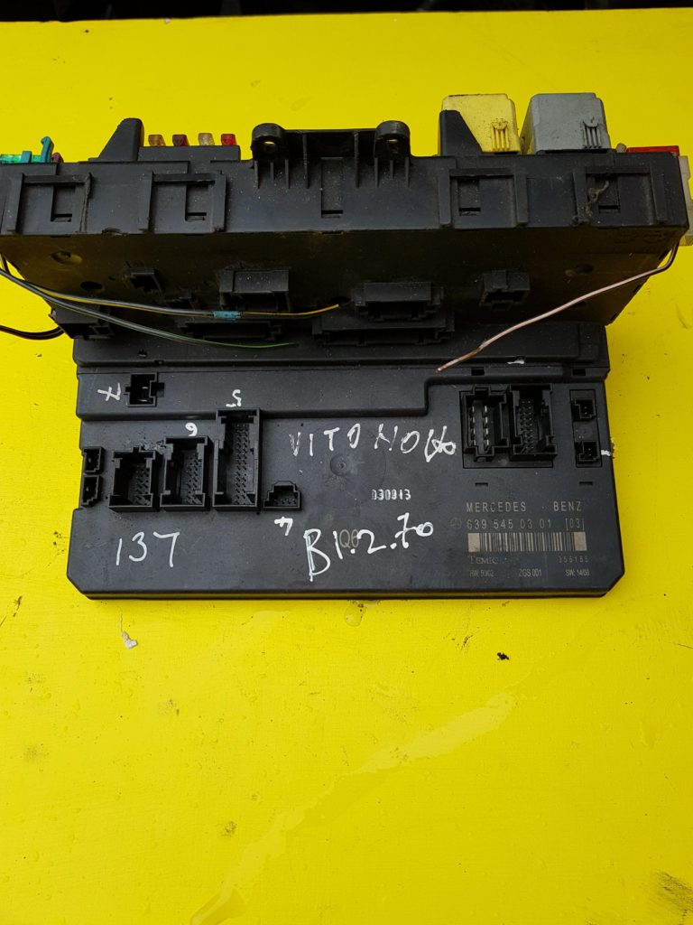 hight resolution of mercedes benz vito w639 sam unit and fuse box 6395450301 b1 2 70