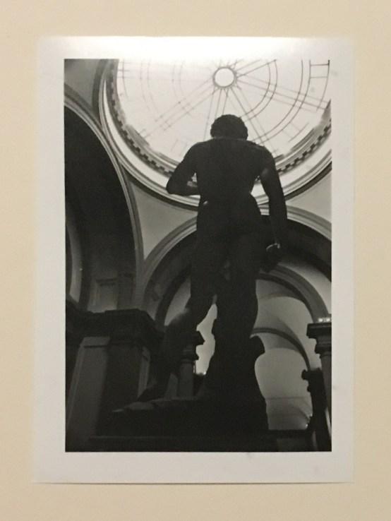 Back View of Michelangelo's David