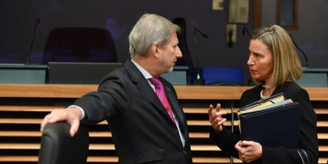 Hahn, Mogherini