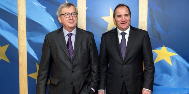 Lofven, Juncker