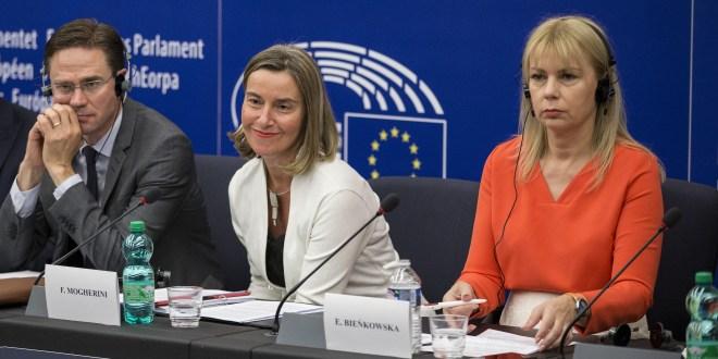 Katainen, Mogherini, Bienkowska