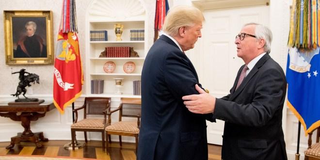 Trump, Juncker