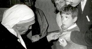 Matka Tereza s Miriamkou