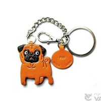 Animal Ring Charm Keychain