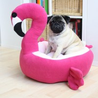 Pet Flamingo Bed