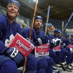 Leafs have now gone on a youth movement to help counter the increase Depends costs from the past years.