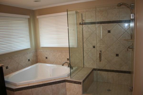 Bathroom Tub Glass Shower Doors