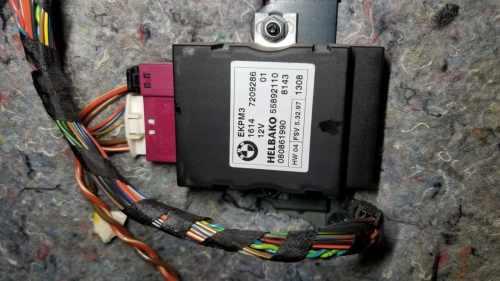 small resolution of bmw ekp control unit location
