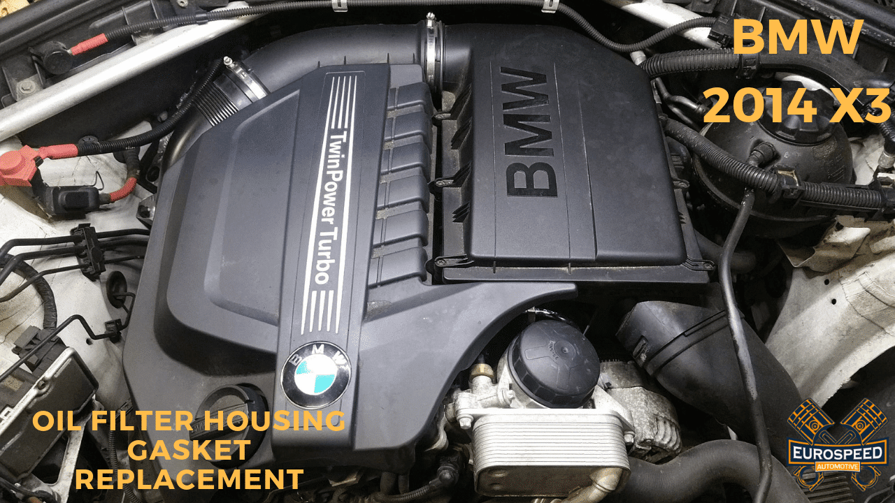 hight resolution of bmw f 25 oil filter housing gasket replacement