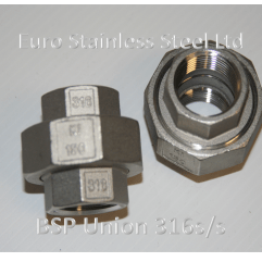 "BSP Cone seat Union 1/4"" to 4"""