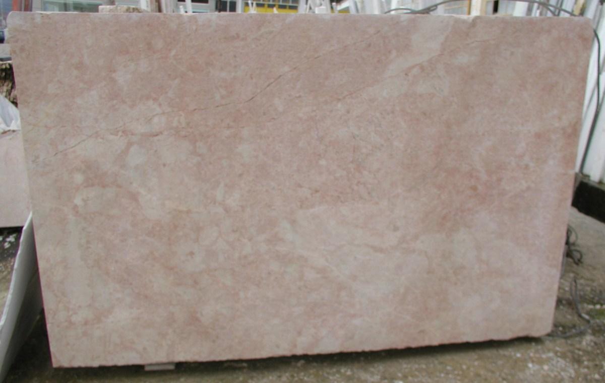 Desert Pink Marble Slab Eurostone Houston