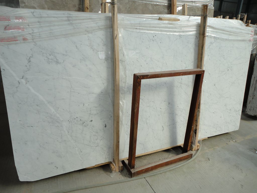Bianco Carrara Marble Slabs Eurostone Houston
