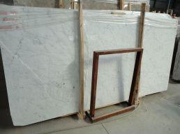 Bianco Carrara Marble Slabs Eurostone Houston