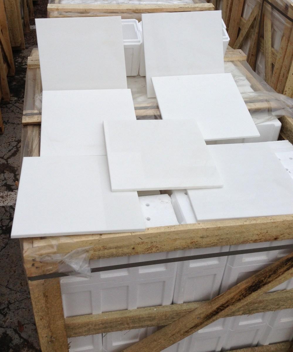 Thassos White Marble Tiles