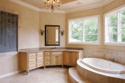 French Vanilla Marble Tiles Slabs Eurostone Houston custom home design
