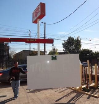 Thassos White Marble Slab Eurostone Houston