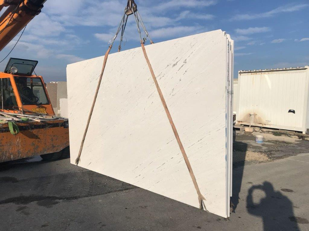 Civic White Marble Slab