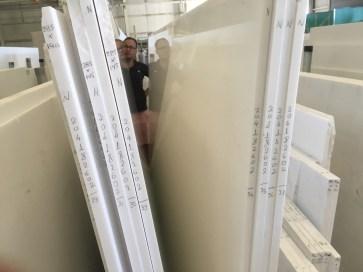 Thassos White Natural Marble Slabs Factory Greece Eurostone Houston