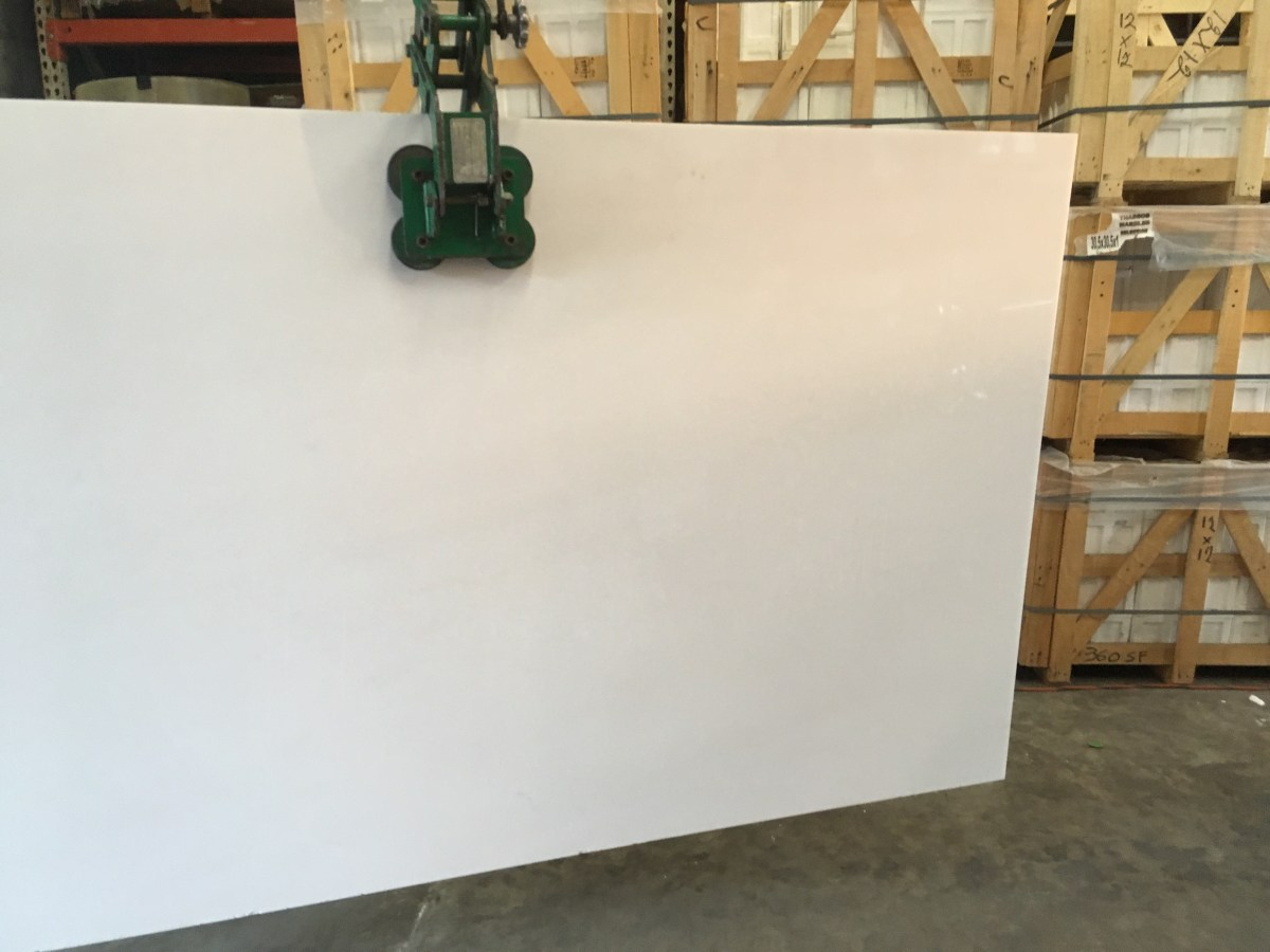 Thassos White natural Greek marble slab Houston Eurostone
