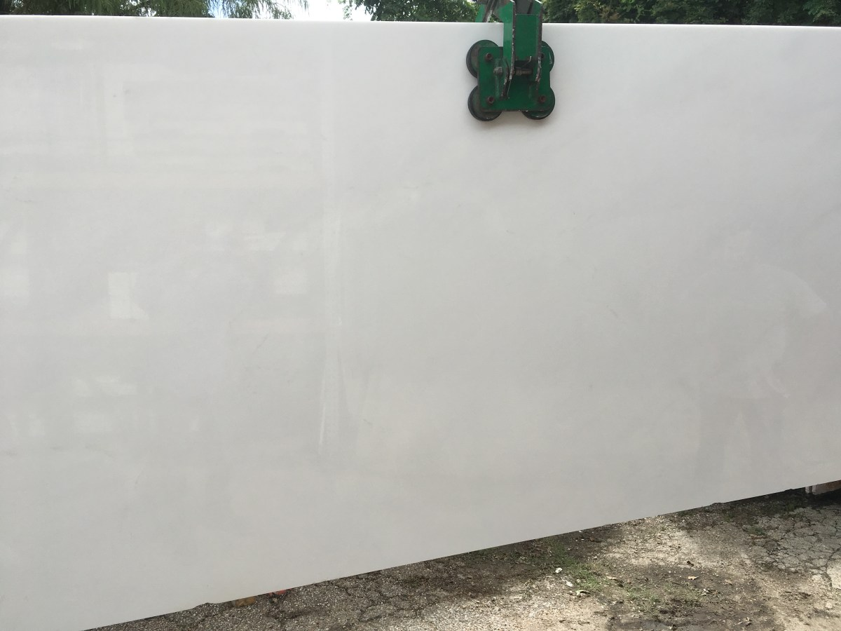 Thassos White Natural Marble Slab Eurostone Houston