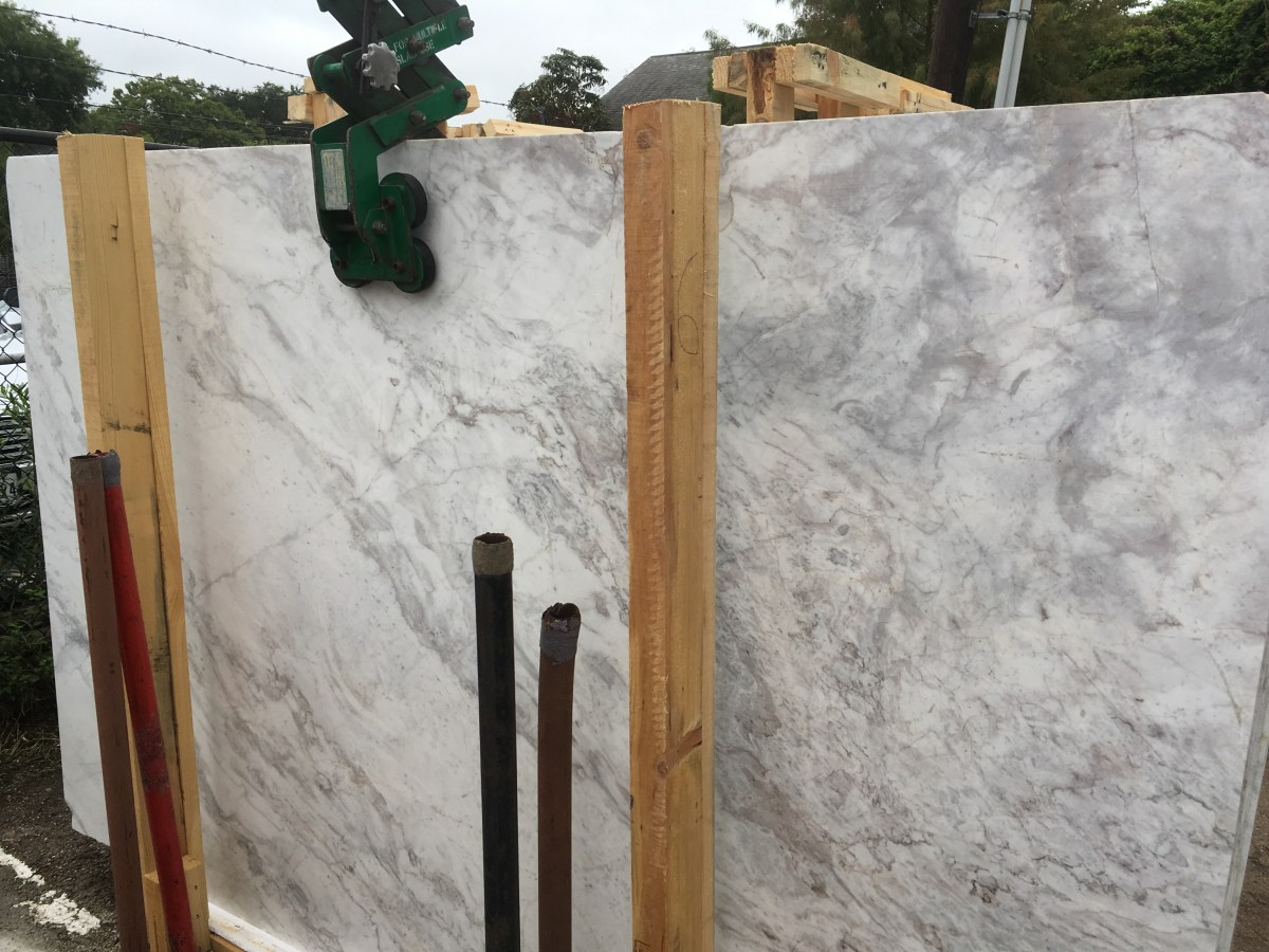 Arabesque White Natural Marble Greek Slab Eurostone Marble
