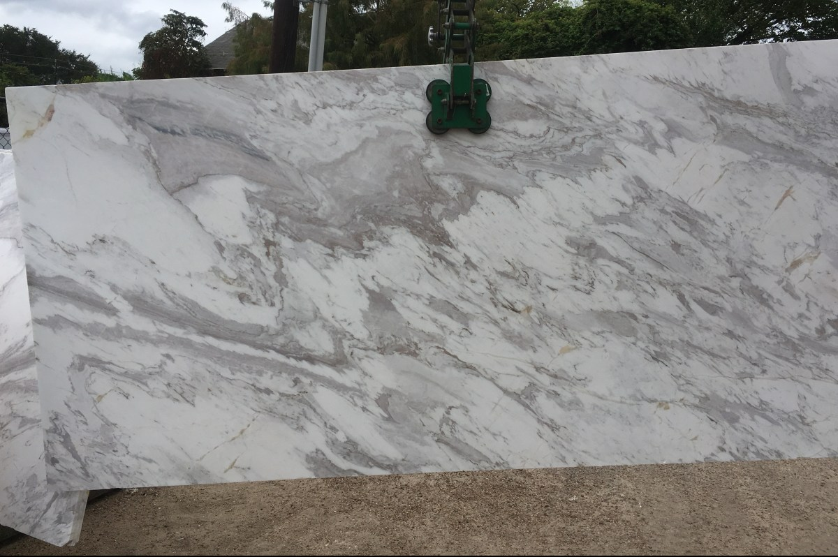 Volakas White Natural Greek Marble Eurostone Houston
