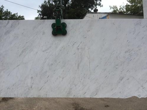Olympus White Natural Greek Marble Slab Eurostone Houston