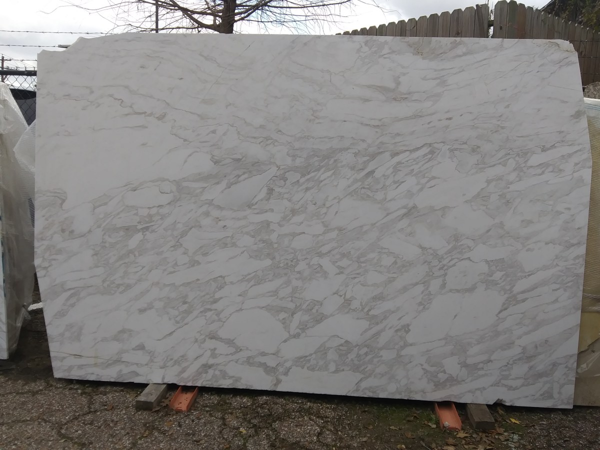 Arabescato Natural Marble Slab Eurostone Houston