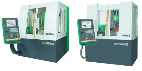 Norma microtool and Aries5 by Schneeberger
