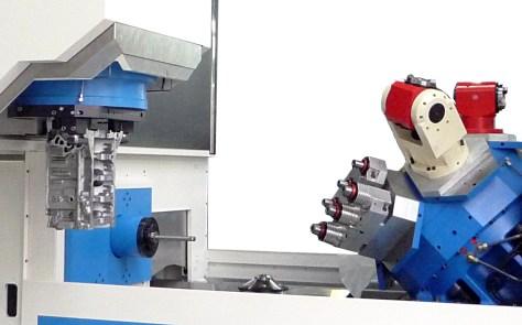 Machining Area of the new Emissa machine