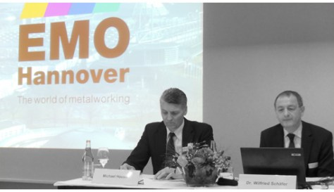 At the press conference, Michael Hauser, CEO of Tornos and??? and Dr. Wilfried???