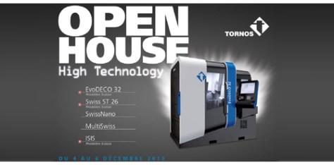 Tornos open house