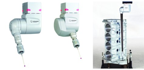 The new HH-A-T2.5   HH-A-H2.5 Probe Heads for CMMs.