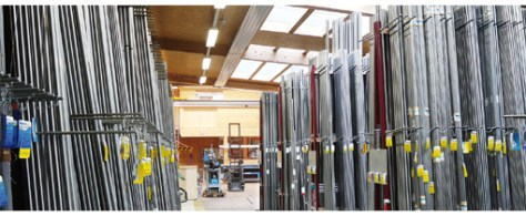In their premises of Bienne, L. Klein SA has a very large stock in order to answer quickly to all requests.