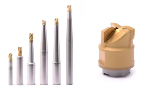 Minimaster Plus® - tool system with replaceable fluted inserts for significantly higher precision and process security.