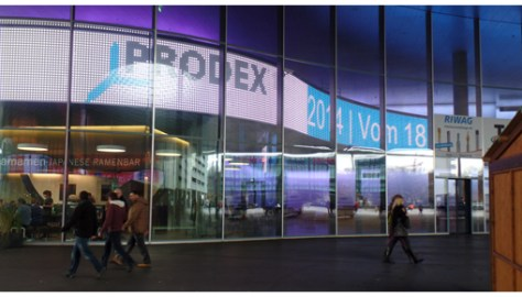 Today the Prodex and Swisstech trade shows start in Basel. You can find us at Prodex on Hall 1.1, stand J14.