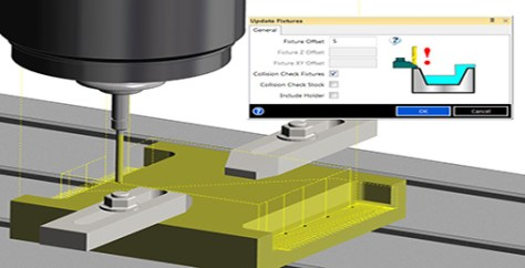 Milling Link Move Collision Avoidance